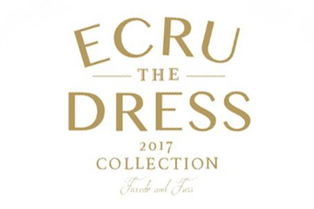 「ECRU THE DRESS」展示会開催のお知らせ