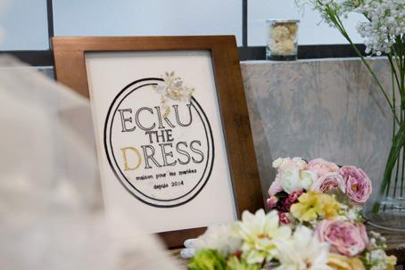「ECRU THE DRESS」展示会開催中